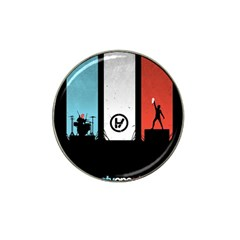Twenty One 21 Pilots Hat Clip Ball Marker (4 pack)