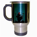 Twenty One 21 Pilots Travel Mug (Silver Gray) Left