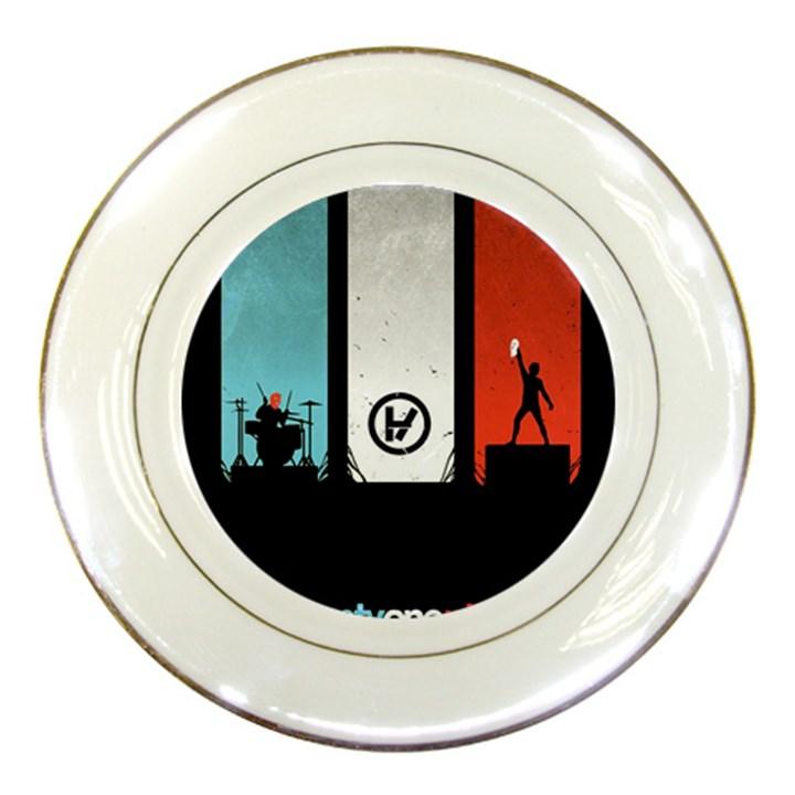 Twenty One 21 Pilots Porcelain Plates