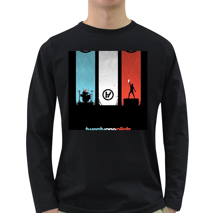 Twenty One 21 Pilots Long Sleeve Dark T-Shirts