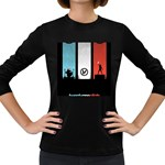 Twenty One 21 Pilots Women s Long Sleeve Dark T-Shirts Front