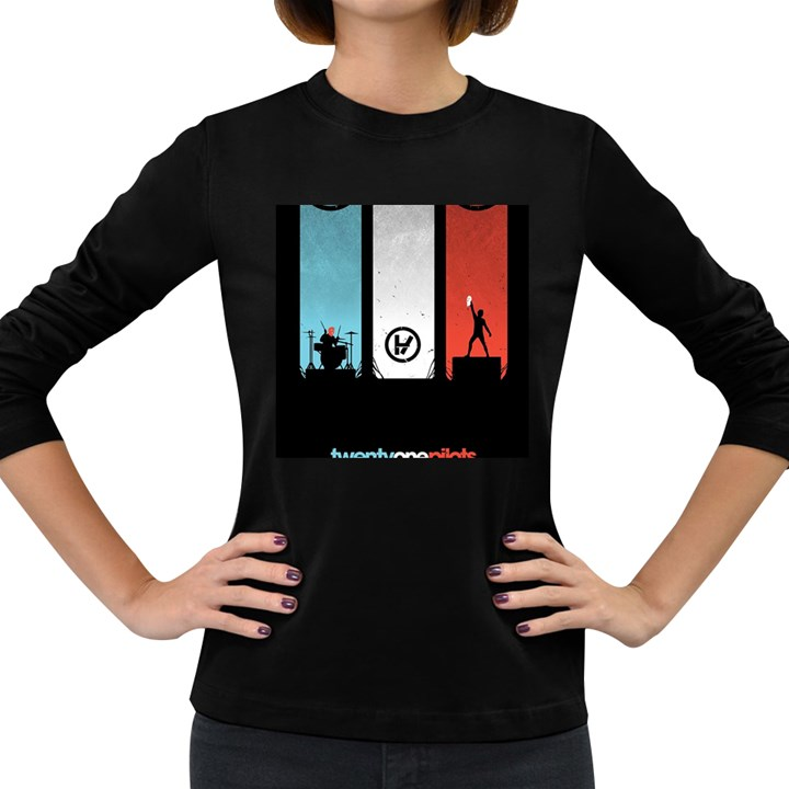 Twenty One 21 Pilots Women s Long Sleeve Dark T-Shirts