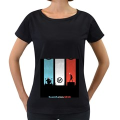 Twenty One 21 Pilots Women s Loose Fit T Shirt (black)