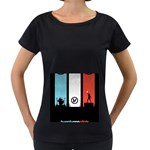 Twenty One 21 Pilots Women s Loose-Fit T-Shirt (Black) Front