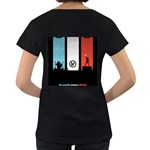 Twenty One 21 Pilots Women s Loose-Fit T-Shirt (Black) Back