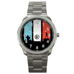 Twenty One 21 Pilots Sport Metal Watch Front