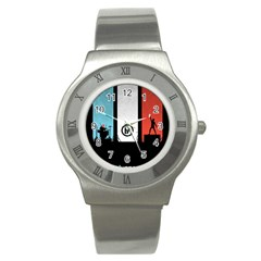 Twenty One 21 Pilots Stainless Steel Watch