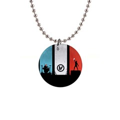 Twenty One 21 Pilots Button Necklaces
