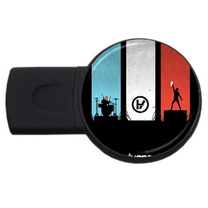 Twenty One 21 Pilots USB Flash Drive Round (4 GB)