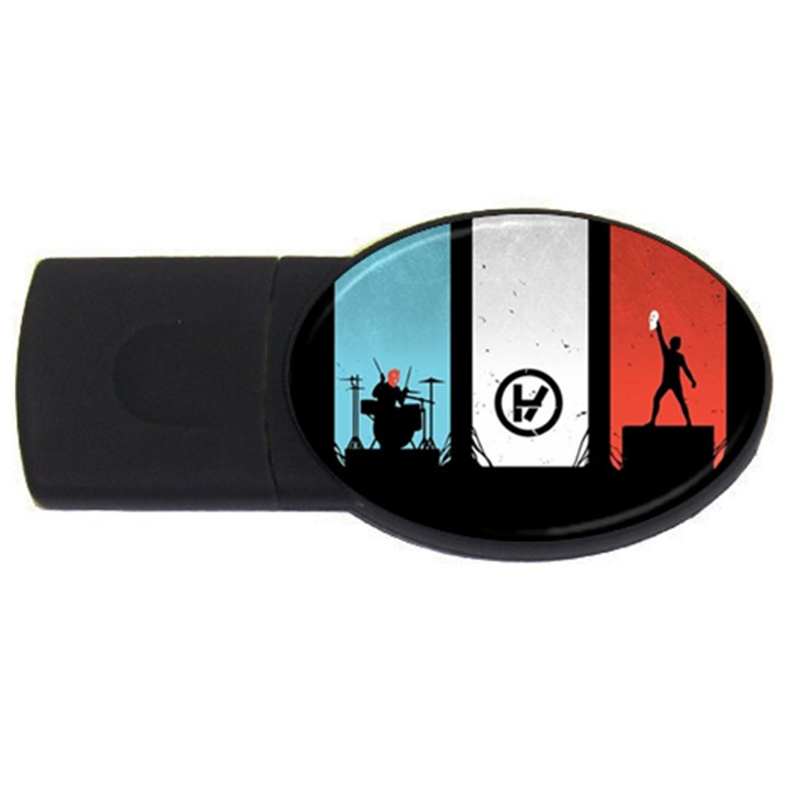 Twenty One 21 Pilots USB Flash Drive Oval (4 GB)