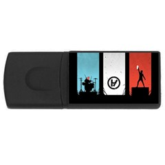 Twenty One 21 Pilots USB Flash Drive Rectangular (4 GB)