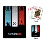 Twenty One 21 Pilots Playing Card Back
