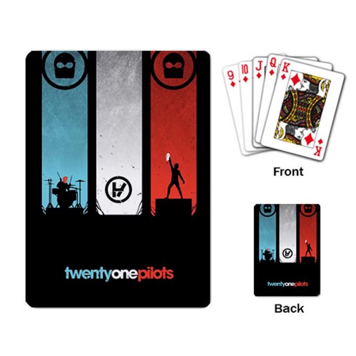 Twenty One 21 Pilots Playing Card