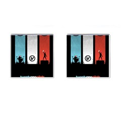 Twenty One 21 Pilots Cufflinks (Square)