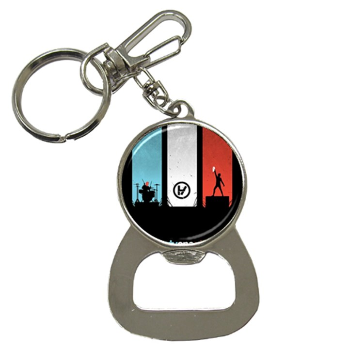 Twenty One 21 Pilots Bottle Opener Key Chains
