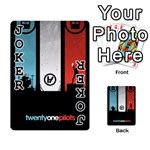 Twenty One 21 Pilots Playing Cards 54 Designs  Front - Joker1