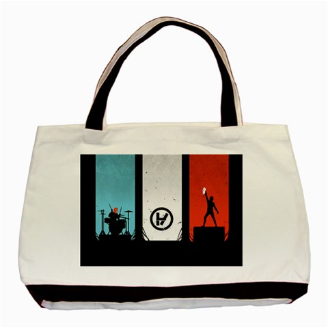 Twenty One 21 Pilots Basic Tote Bag