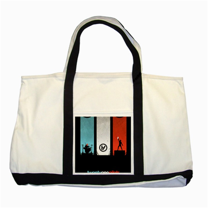 Twenty One 21 Pilots Two Tone Tote Bag