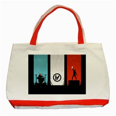 Twenty One 21 Pilots Classic Tote Bag (Red)