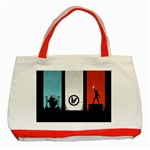 Twenty One 21 Pilots Classic Tote Bag (Red) Front