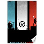 Twenty One 21 Pilots Canvas 12  x 18   18 x12 Canvas - 1