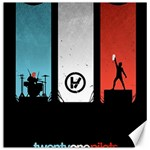 Twenty One 21 Pilots Canvas 16  x 16   16 x16 Canvas - 1