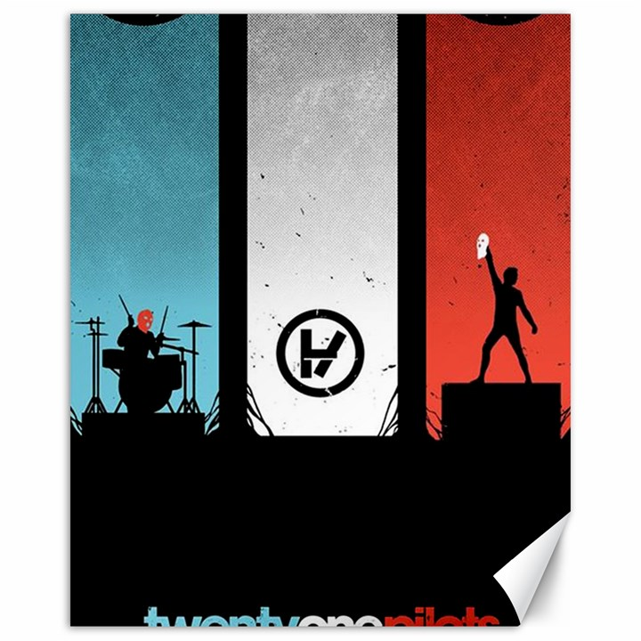 Twenty One 21 Pilots Canvas 16  x 20