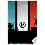 Twenty One 21 Pilots Canvas 24  x 36  36 x24 Canvas - 1