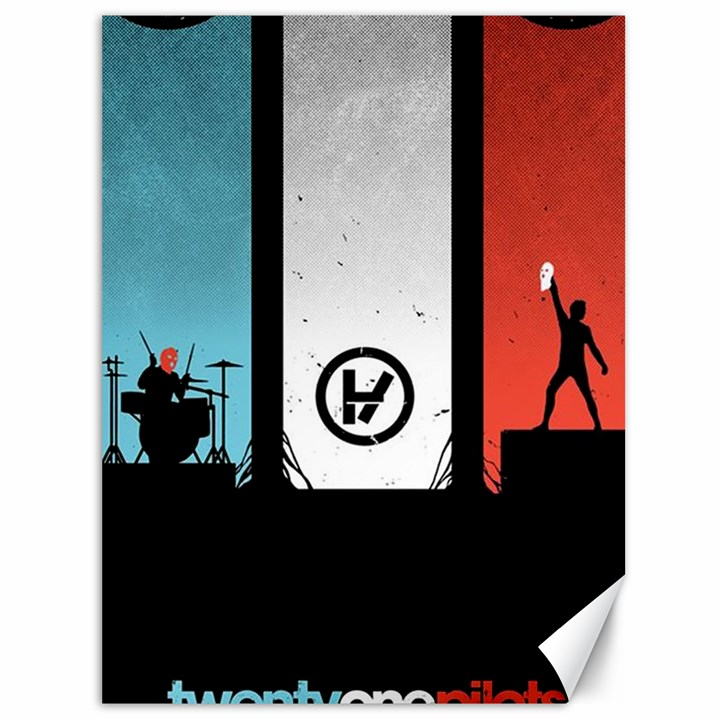 Twenty One 21 Pilots Canvas 36  x 48
