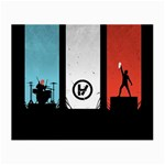 Twenty One 21 Pilots Small Glasses Cloth (2-Side) Front