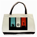 Twenty One 21 Pilots Basic Tote Bag (Two Sides) Back
