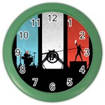 Twenty One 21 Pilots Color Wall Clocks Front