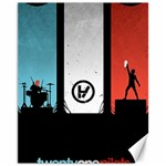 Twenty One 21 Pilots Canvas 11  x 14   14 x11 Canvas - 1