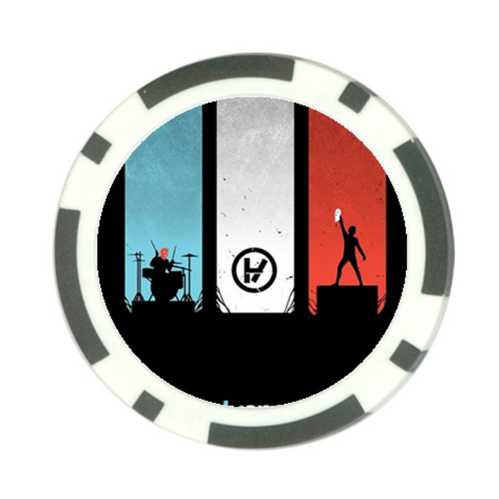 Twenty One 21 Pilots Poker Chip Card Guards