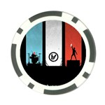 Twenty One 21 Pilots Poker Chip Card Guards Back