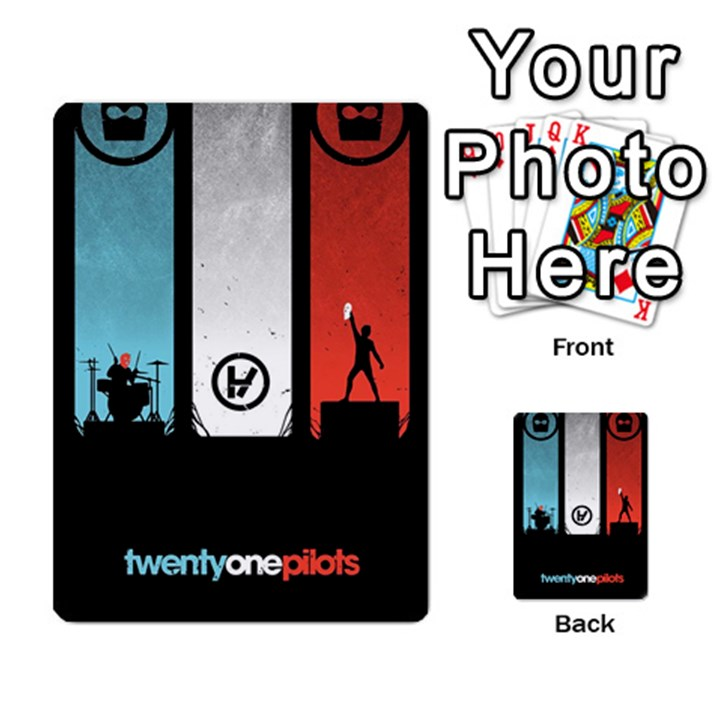 Twenty One 21 Pilots Multi-purpose Cards (Rectangle)
