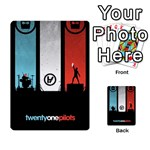 Twenty One 21 Pilots Multi-purpose Cards (Rectangle)  Back 40