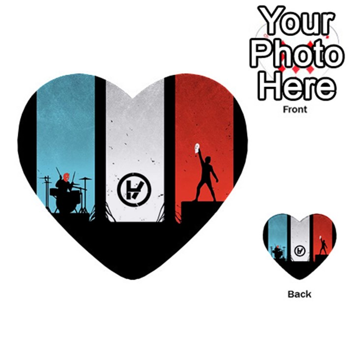 Twenty One 21 Pilots Multi-purpose Cards (Heart)