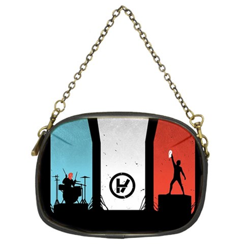 Twenty One 21 Pilots Chain Purses (Two Sides)