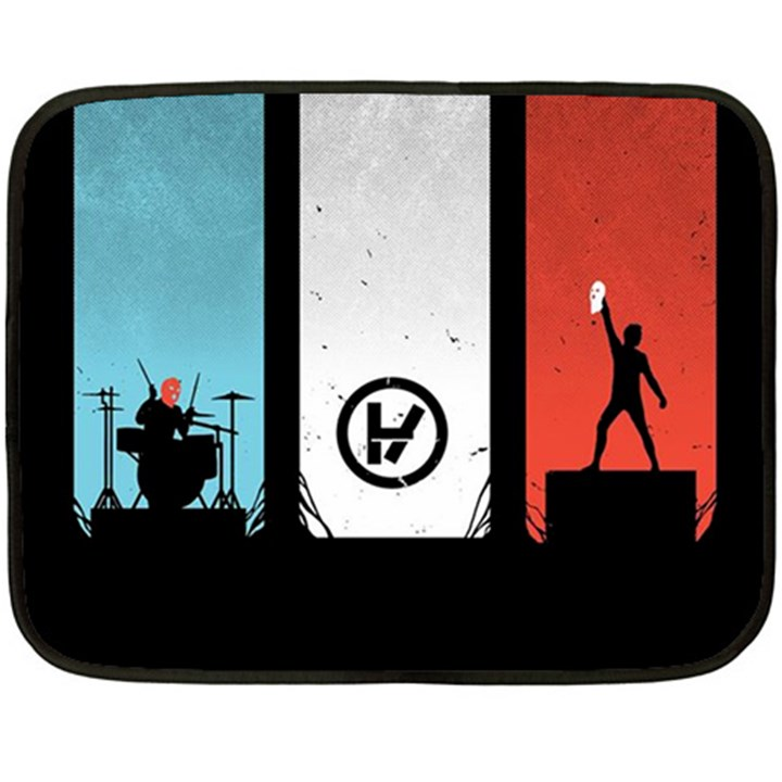 Twenty One 21 Pilots Double Sided Fleece Blanket (Mini)