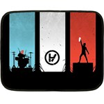 Twenty One 21 Pilots Double Sided Fleece Blanket (Mini)  35 x27 Blanket Back