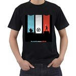 Twenty One 21 Pilots Men s T-Shirt (Black) Front