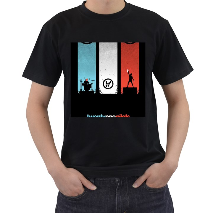 Twenty One 21 Pilots Men s T-Shirt (Black)