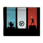 Twenty One 21 Pilots Cosmetic Bag (XL) Front