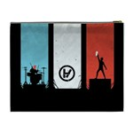 Twenty One 21 Pilots Cosmetic Bag (XL) Back