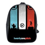 Twenty One 21 Pilots School Bags(Large)  Front