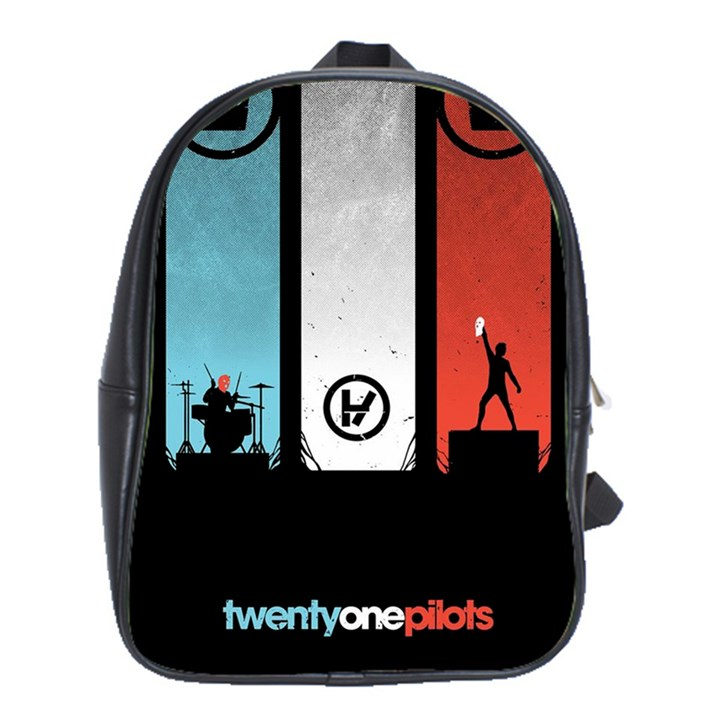 Twenty One 21 Pilots School Bags(Large)