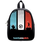 Twenty One 21 Pilots School Bags (Small)  Front