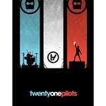 Twenty One 21 Pilots Large Memo Pads 4.125 x5.5  Memopad