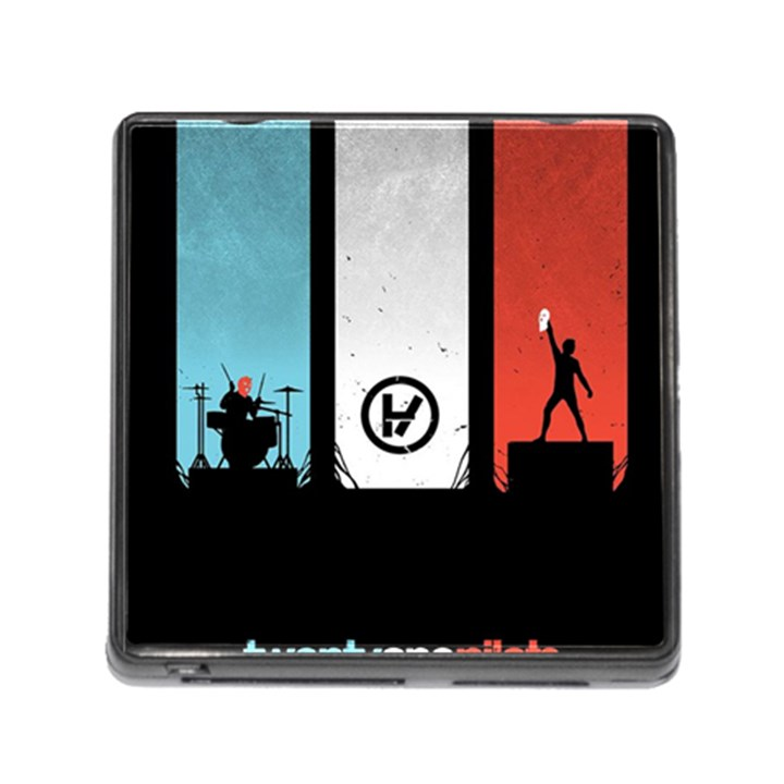 Twenty One 21 Pilots Memory Card Reader (Square)